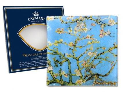 Skleněný talíř V. van Gogh Kvetoucí mandle