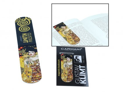 Magnetická záložka do knihy G. Klimt, Adele Bloch Bauer