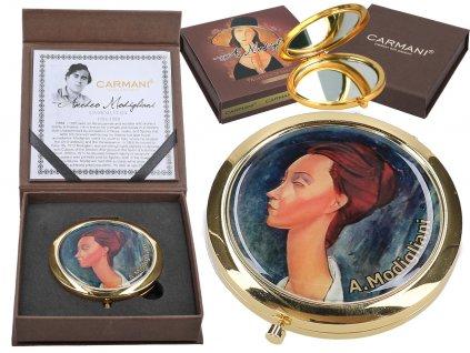 Kosmetické zrcátko A. Modigliani, Lunia Czechowska