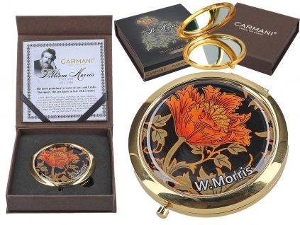 Kosmetické zrcátko William Morris
