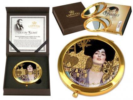 Kosmetické zrcátko Gustav Klimt Judith