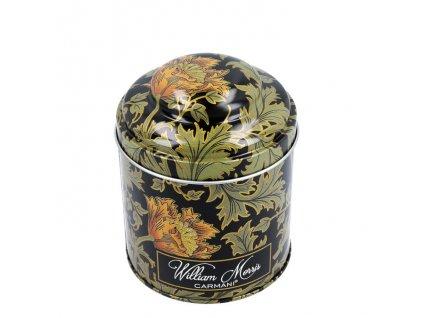 Plechová dóza na kávu a sypaný čaj William Morris