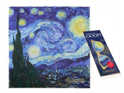 Utěrka na brýle Vincent van Gogh Hvězdná noc
