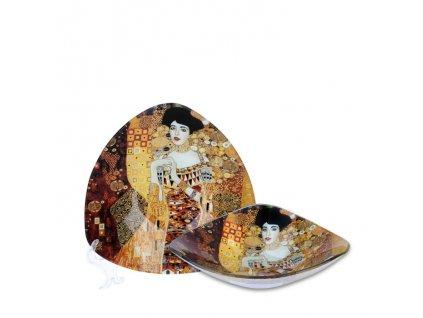 Skleněná miska G. Klimt Adele Bloch