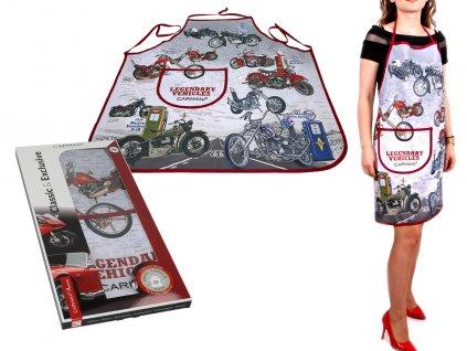 Kuchyňská zástěra Classic & Exclusive, Legendary Vehicles, motors