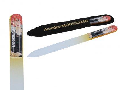 Skleněný pilník na nehty A. Modigliani