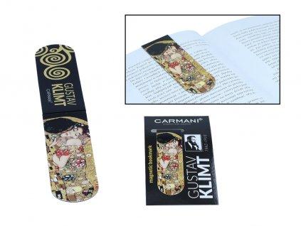 Magnetická záložka do knihy G. Klimt, The Kiss
