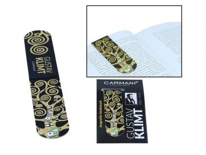 Magnetická záložka do knihy G. Klimt, The Tree of Life