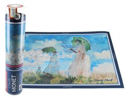 Prostírání C. Monet, Dáma s deštníkem