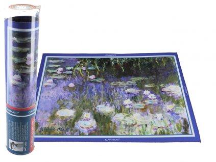 Prostírání C. Monet, Vodní lilie