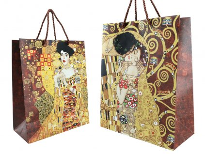 Dárková taška G. Klimt, The Kiss