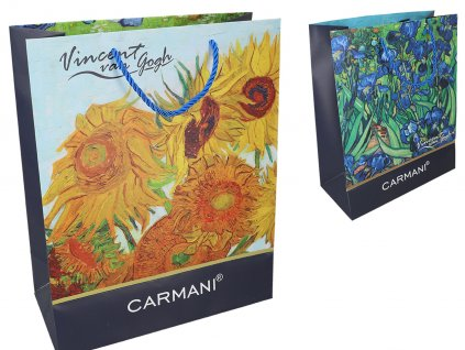 Dárková taška V. van Gogh, V. van Gogh, Irises, Sunflowers