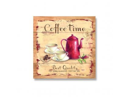 Dezertní třívrstvé ubrousky COFFE TIME, 20 ks