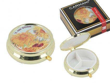 Box na prášky V. van Gogh, Slunečnice