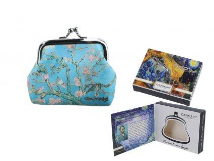 Carmani Malá peněženka V. van Gogh, Blossoming Almond Tree