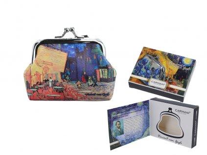 Malá peněženka V. van Gogh, Kavárna v noci na terase v dárkové krabičce