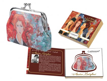 Malá peněženka A. Modigliani I v dárkové krabičce