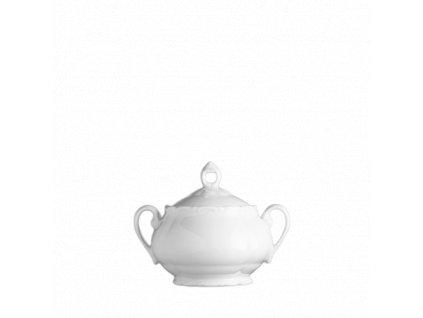 Porcelánová cukřenka, VERONA barva bílá - 250 ml