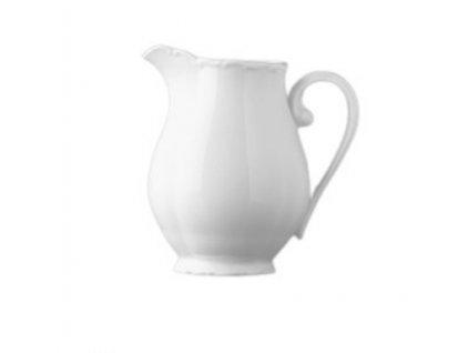 Porcelánová MLÉKOVKA VERONA, barva bílÁ o objemu 250 ml.removebg preview