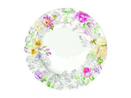 Porcelánový talíř QUEEN'S GARDEN