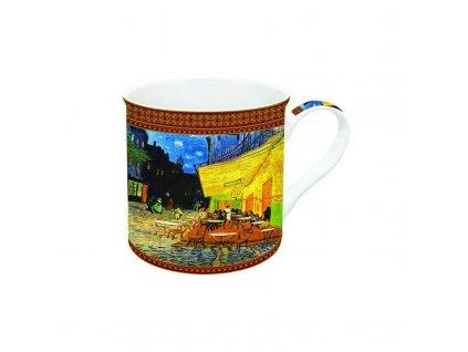 Porcelánový hrnek V. v Gogh, Kavárna na terase v dárkové krabičce