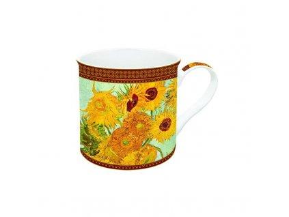 Porcelánový hrnek V. vab Gogh, Slunečnice v dárkové krabičce