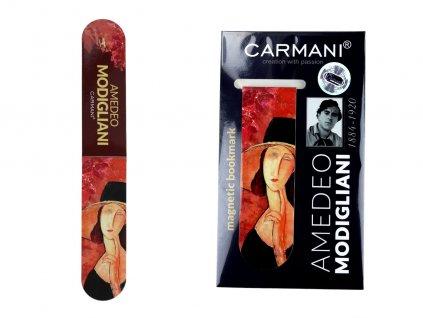 Magnetická záložka A. Modigliani, A. Modigliani, Lunia Czechowska