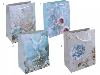 Dárková papírová taška Vintage Roses