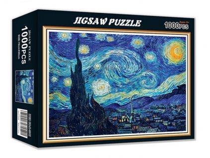 Puzzle V. van Gogh, Hvězdná noc 1000 dílků