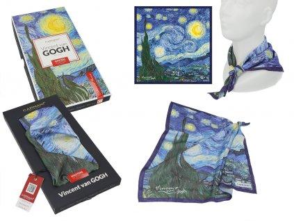 Šátek V. van Gogh, Starry night v dárkovém balení