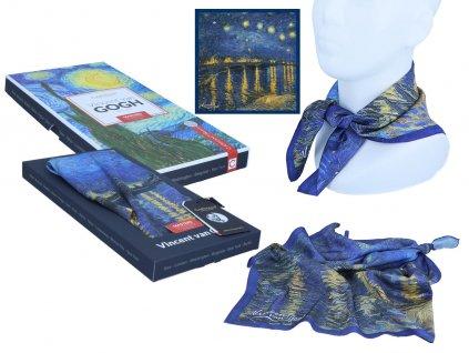 Šátek V. van Gogh, Starry night I v dárkovém balení