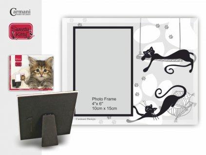 Fotorámeček pro milovníky koček