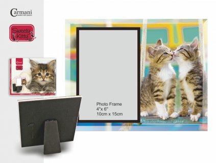 Fotorámeček pro milovníky koček, koťata