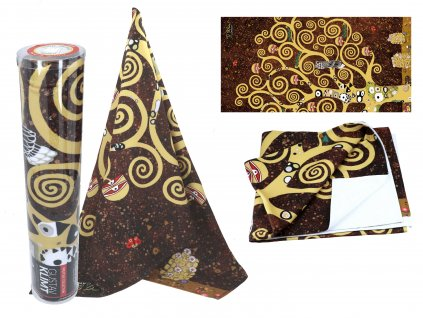 Ručník G. Klimt, The Tree of Life v dárkové krabičce