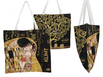 Látková taška, G. Klimt, The Kiss + The Tree of Life