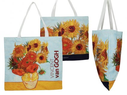 Látková taška, V. van Gogh, Sunflowers,,