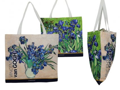 Látková taška, V. van Gogh, Irises