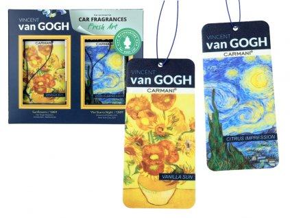 Sada 2 vůní do auta, V. van Gogh, Vanilla Sun + Citrus Impression