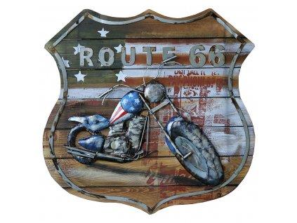 Kovový obraz MOTORCYCLE - 60*60*5.5 cm