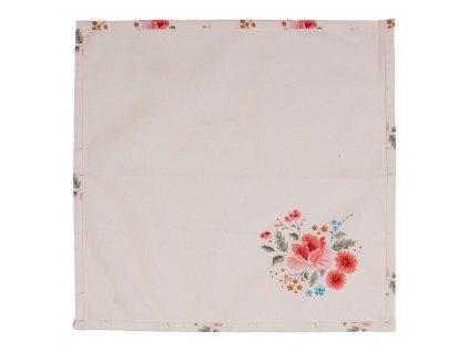 Textilní ubrousky LITTLE ROSE COLLECTION 40*40 cm (sada 6 kusů)