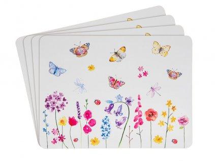Korkové prostírání Butterfly Garden