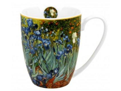 Porcelánový hrnek V. van Gogh IRISES v dárkové krabičce 380 ml