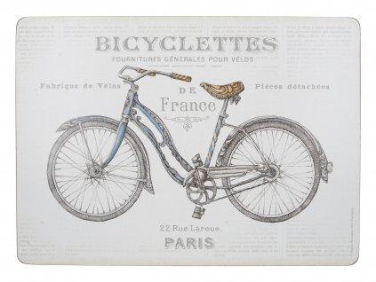 Creative Tops - Korkové prostírání Bicycle velké /40*29 cm/ - 4 ks v balení