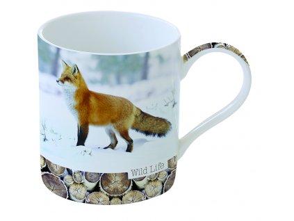 Easy Life - Porcelánový hrnek Red Fox - Objem 350 ml