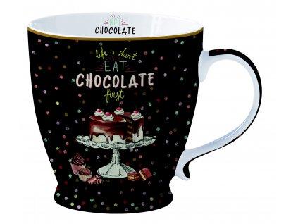Easy Life - Porcelánový hrnek Hot Chocolate - 400 ml