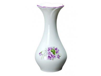 Porcelánové váza FIALKY - 16,5 cm