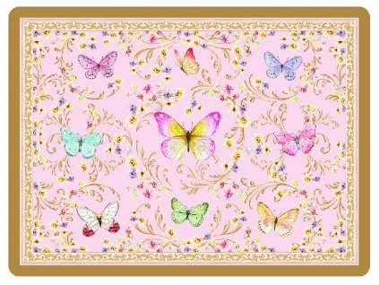 Easy Life - Korkové prostírání Majestic Butterflies /40*30 cm/ - 4 ks v balení