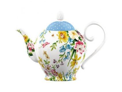 Creative Tops - Porcelánová konvice na čaj English Garden od Katie Alice - /Objem je 1,25 l/