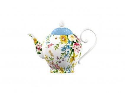 Porcelánová konvice na čaj English Garden