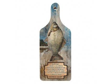 Bohemia Gifts Dekorační kuchyňské prkénko pro rybáře